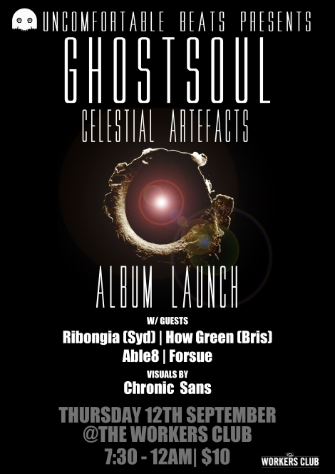 Ghostsoul: Celestial Artefacts (Album) Out Dec 12th.